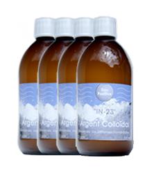 Frasco de 500 ml Plata coloidal 23 ppm (envío gratis)