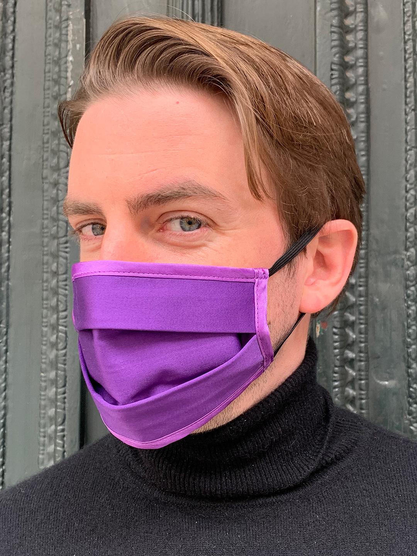 Masque de Protection Recto Violet Homme